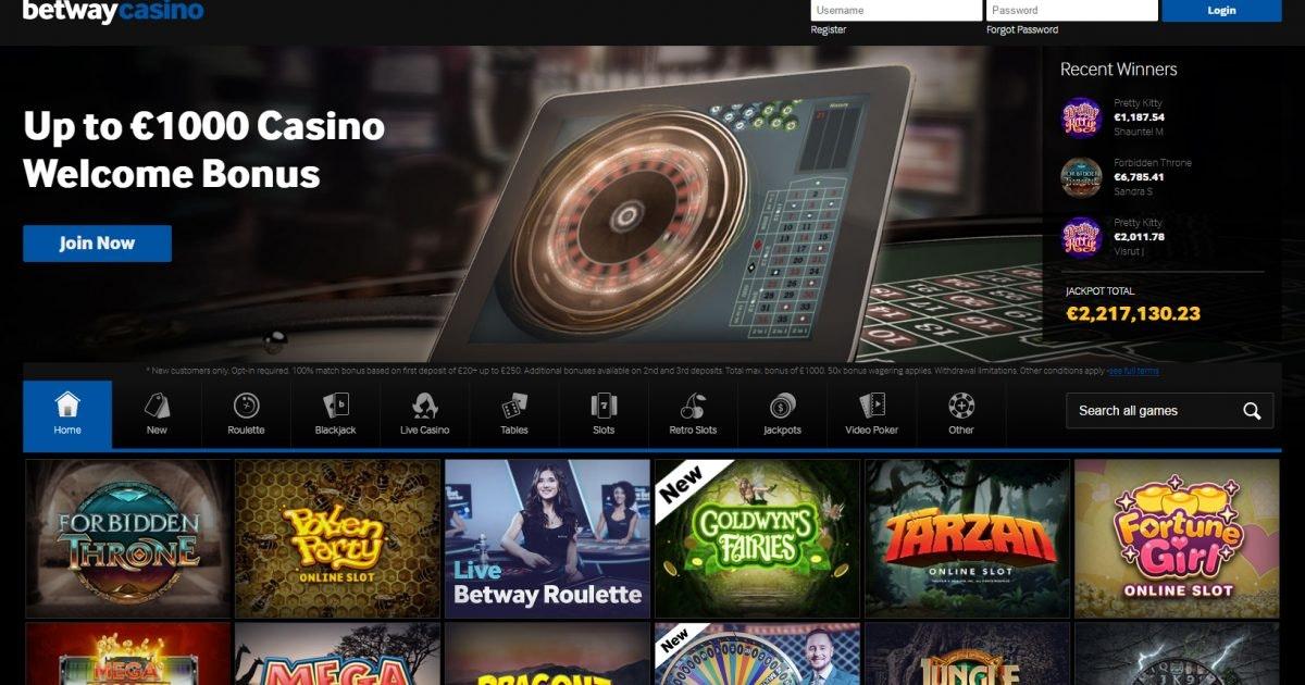 Betway Casino Faq